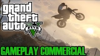 GTA 5 - Official Gameplay Commercial / Comercial del gameplay (TV & YouTube)