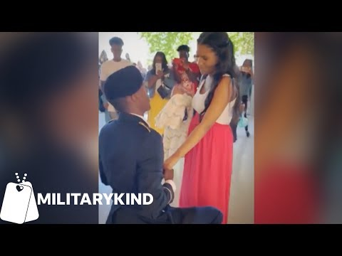Maverick - Soldier's Push Ups Lead to Sweet Marriage Proposal