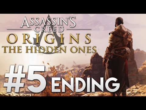 Lets Play  Assassins Creed Origins: The Hidden Ones  #5 ENDING 1440pXbox One X