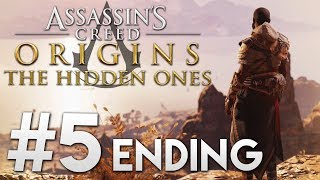 Lets Play  Assassins Creed Origins The Hidden Ones - 5 ENDING 1440pXbox One X