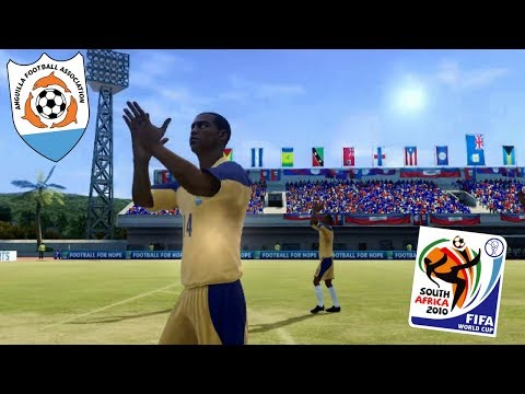 CARIBBEAN CRUISE! | ANGUILLA WORLD CUP 2010 QUALIFYING!