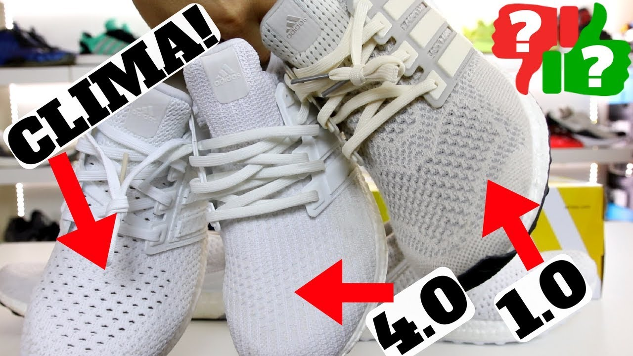 new concept e889a 7627f Worth Buying  adidas Ultra Boost CLIMA! Comparison to 1.0   4.0 Review