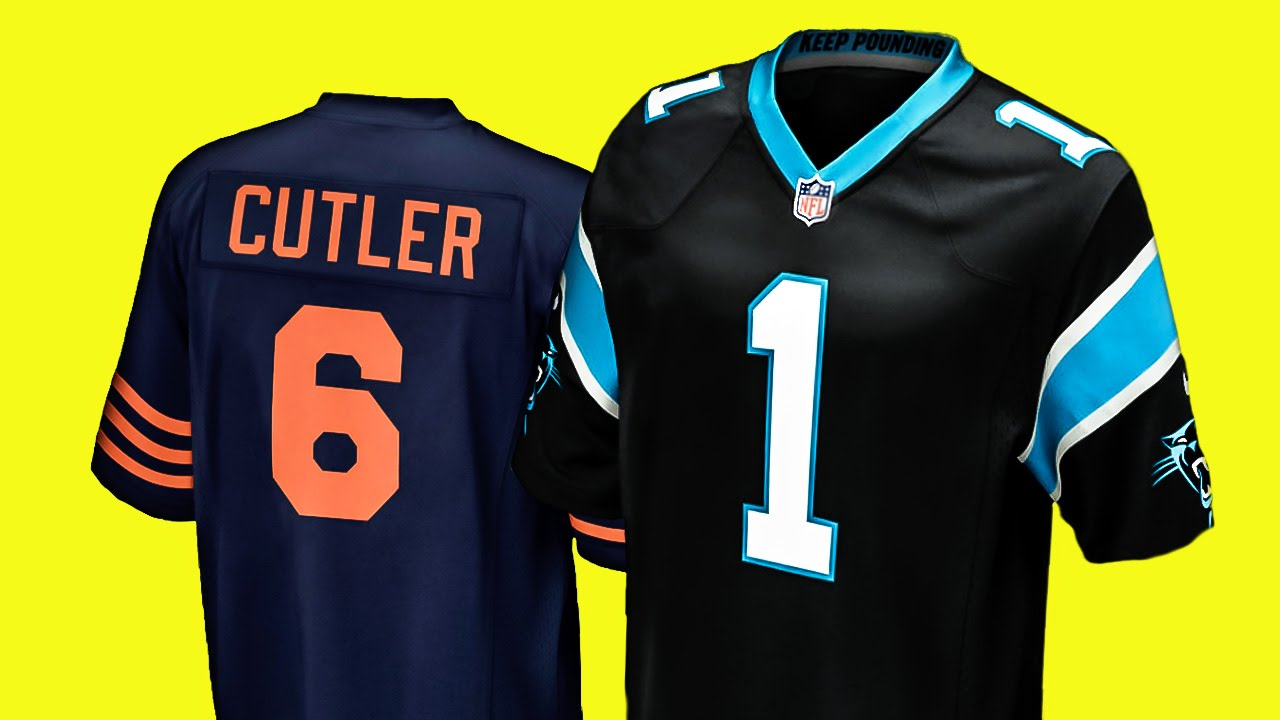 wholesale dealer 509a1 68546 NFL TRIKOT: Unterschied Größe S zu Youth XL - Carolina Panthers, Game  Jersey, Cam Newton