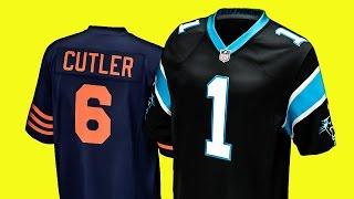 NFL TRIKOT: Unterschied Größe S zu Youth XL - Carolina Panthers, Game Jersey, Cam Newton