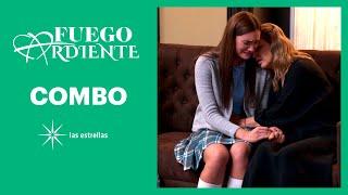 Fuego ardiente: ¡Katia confiesa su embarazo a Irene! | C-51 | Las Estrellas