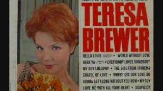Teresa Brewer - Suspicion (1964)