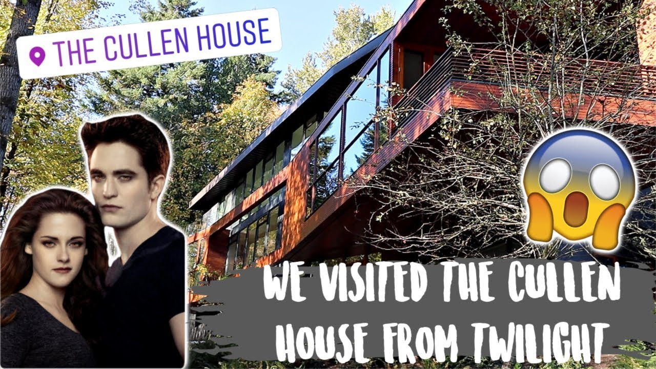 We Visited The Cullen House From Twilight Youtube