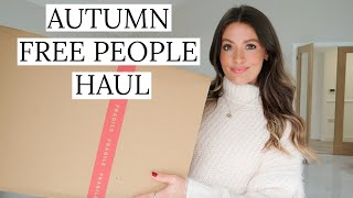 FREE PEOPLE AUTUMN HAUL | FALL OUTFITS | MODEL MOUTH AD