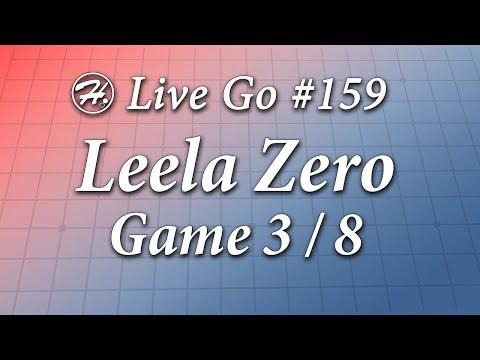 Leela Zero Match (Game 3/8) - Haylee's Live Go 159