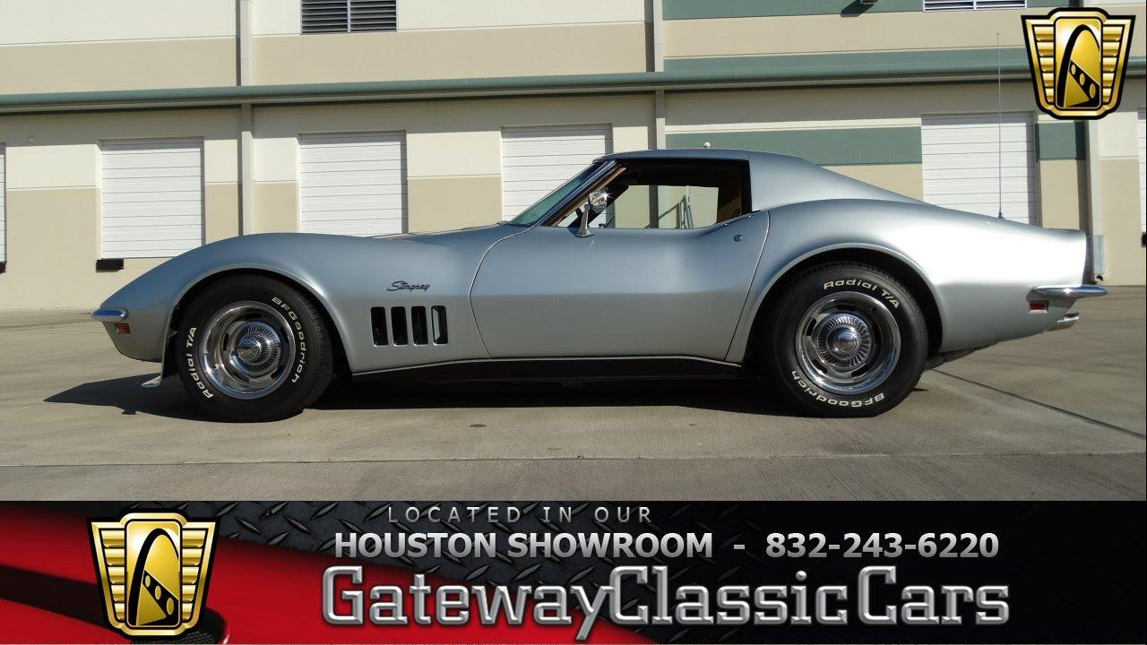 1969 Chevrolet Corvette Stingray Houston Texas - YouTube