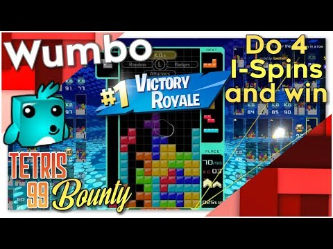 """Tetris 99 Bounty - """"Win a game with 4 l-spins"""""""