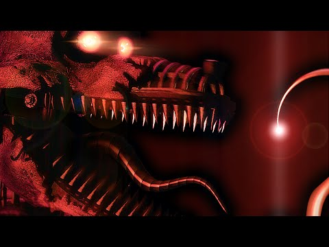 Nightmare Foxy Revealed! || Five Nights At Freddy's 4...The Final Chapter