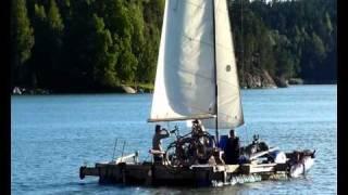 Odd catamaran/=Rescue Boat Baltic Sea Herring/=Pelastusalus SIlakka