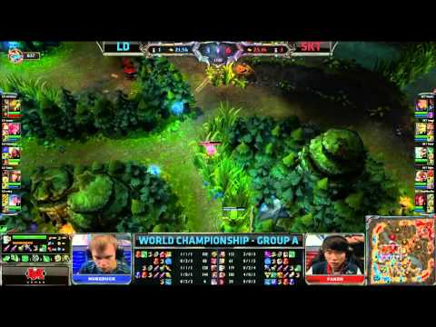 LD vs SKT | Lemondogs vs SK Telecom T1 | Worlds 2013 Day 5 Group A | Season 3 Championship D5G1 VOD