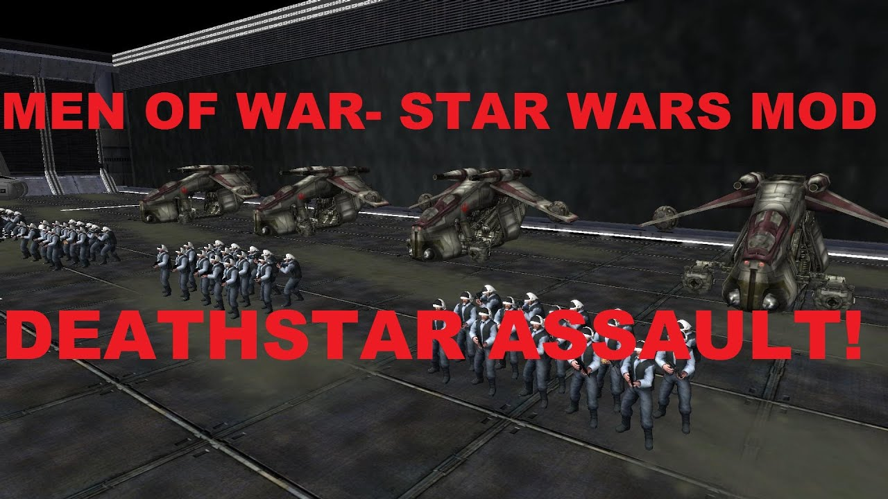 Men Of War: Assault Squad 2- Star Wars Mod~ Battle Of The ...