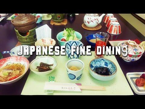 TRAVEL JAPAN VLOG | Kaiseki Japanese Style Fine Dining 懐石料理 #5