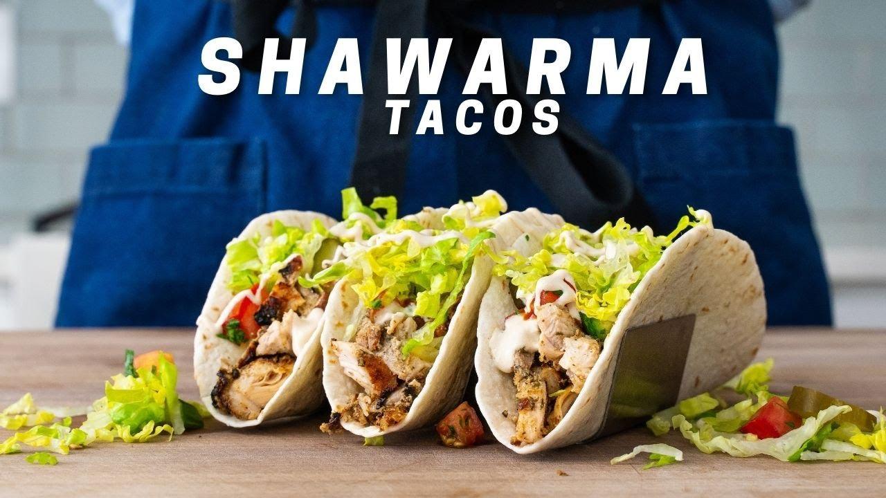 Quick Chicken Shawarma Taco in under 30 minutes   WEEKNIGHTING