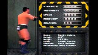 WWF Warzone PS1 Wrestler Biographies