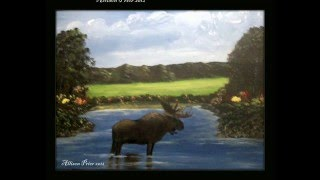 Acrylic painting landscape and seascape paintings you can learn,