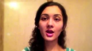 اجمل صوت بنت جميله تغني هندي راح تعجبكم والله