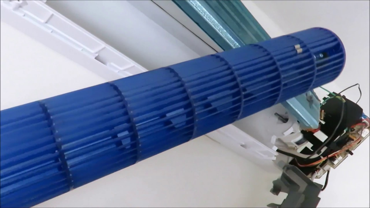 Como Desmontar Turbina De Minisplit Aire Acondicionado Youtube