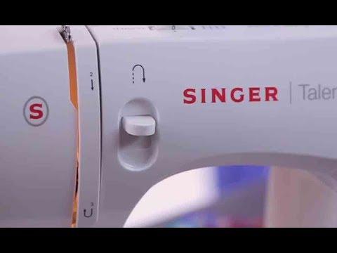 Singer Fashion Maker - 3321 /SIMPLE Demo Video