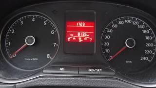 Сброс счетчика ТО Volkswagen polo sedan
