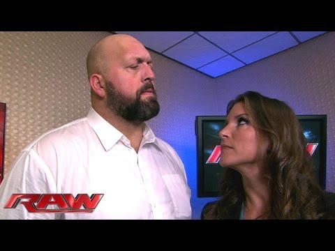 Stephanie McMahon saves Big Show from being arrested: Raw, Sept. 30, 2013 thumbnail