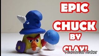 How to make angry birds epic- yellow bird by clay