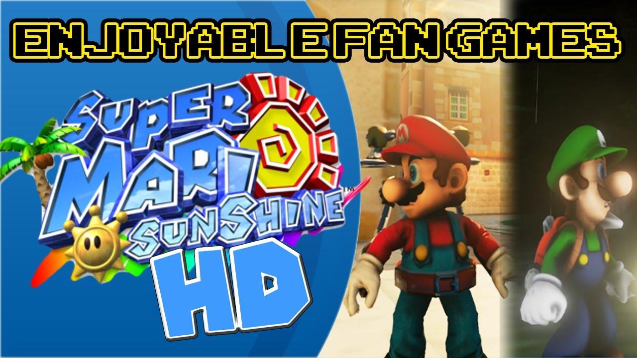 Enjoyable Fan Games Super Mario Sunshineluigis Mansion Hd Youtube