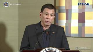 Duterte: De Lima could suffer 'what Gloria Arroyo suffered'