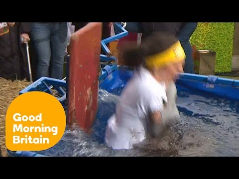 Laura Tobin & Julia Bradbury Get Dunked In Icy Water For Tough Mums | Good Morning Britain