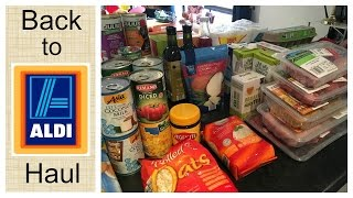 Back to ALDI after ONE YEAR! | Grocery Haul