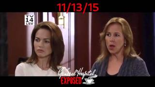 GENERAL HOSPITAL PREVIEW 11/13/15