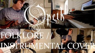 Opeth - Folklore // Instrumental Cover (Full mix cover)
