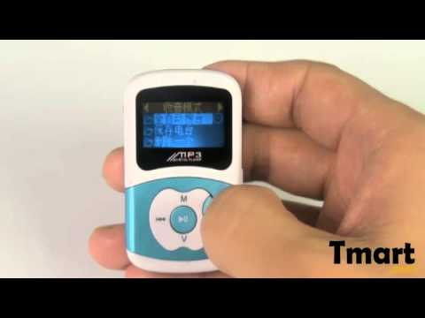 "14.99 4GB 0.9"" LCD Mini Apple MP3 Player with External Speaker/FM Function Blue-88007666"