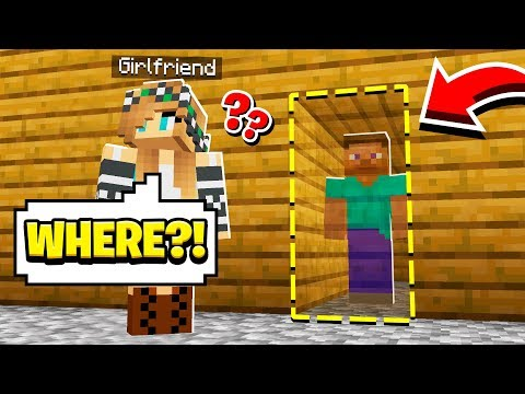 We built a SECRET BASE in our HOUSE!! (Minecraft) thumbnail