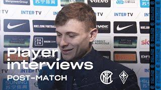INTER 2-1 FIORENTINA | BARELLA + CANDREVA + GODIN EXCLUSIVE INTERVIEWS [SUB ENG]