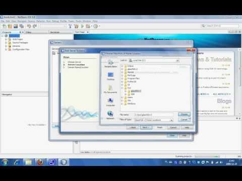 Deploying JEE Application On Glassfish V3 Using Netbeans 6.8