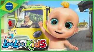As Rodas do Ônibus - Canções para crianças | LooLoo Kids Português