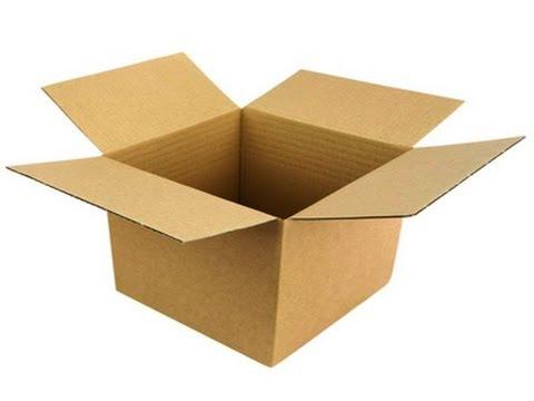 Картонные коробки , делают так !!!