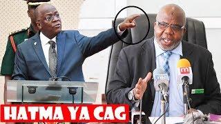 Ghafla Tumepokea Habari Hii Nzito Je Magufuli Atamtumbua CAG Baada ya Bunge kumkataa??