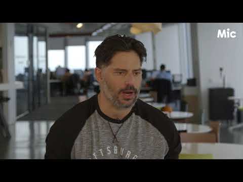 "Joe Manganiello talks fashion, football, ""Magic Mike XXXL,"" and ""Justice League"""