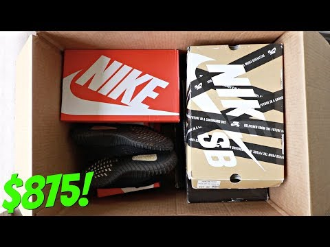Unboxing A $875 Sneaker Mystery Box (Sole Supremacy) |