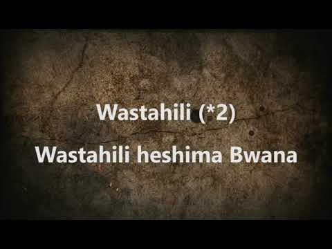 Download AIC DAR ES SALAAM CHOIR-Wastahili Sifa Mungu (Official Video Lyrics)