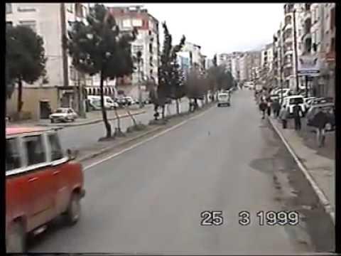 1999 Yılında Trabzon Yolu