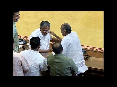 CM Pinarayi Vijayan convey his wishes to KM Mani  on his birthday