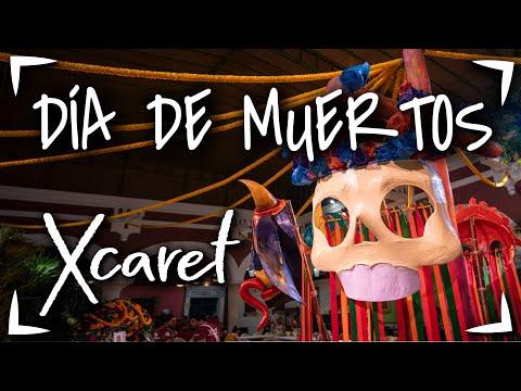 Dia de Muertos en Xcaret 🔴Festival Vida y Muerte Xantolo ► Que hacer en dia de muertos en Cancun