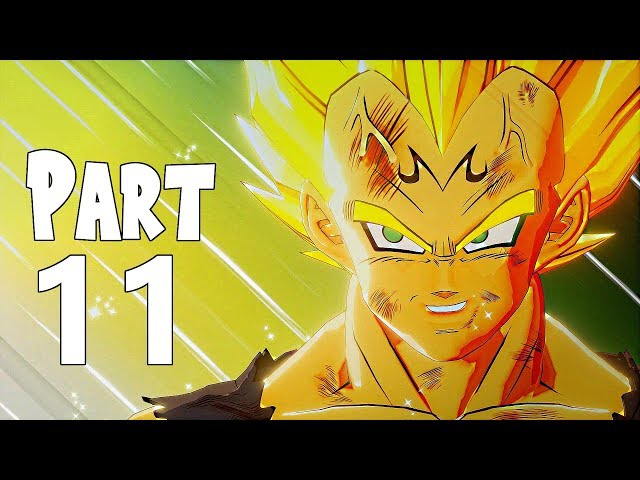 Dragon Ball Z Kakarot Gameplay Walkthrough Part 11- Majin buu & Majin Vegeta (XBOX ONE Gameplay)