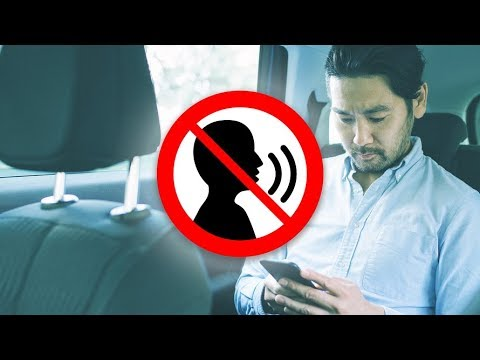 """Craig Stevens - Uber Introduces """"Quiet Mode"""" Option, Letting Drivers Know to Keep Silent"""
